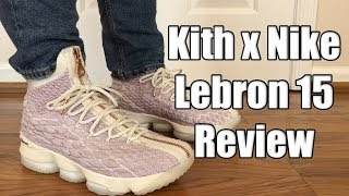 best sneakers c32e8 84ced Lebron 15 Performance Kith Suit of Armor - Free video search ...