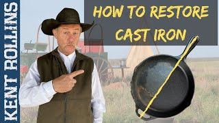 How to Restore Cast Iron | 3 Ways to Restore and Season Cast Iron | Quick Tips