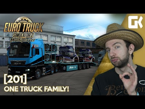 ONE TRUCK FAMILY EVENT! | Euro Truck Simulator 2 #201