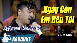 ngay-con-em-ben-toi-karaoke-quang-lap-tone-nam-nhac-vang-bolero-karaoke
