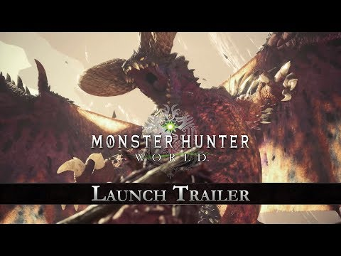 Monster Hunter: World - Launch Trailer thumbnail