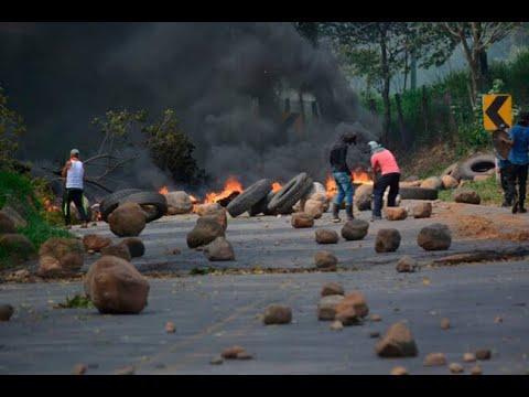 Campesinos del Catatumbo piden presencia del gobernador para levantar bloqueo