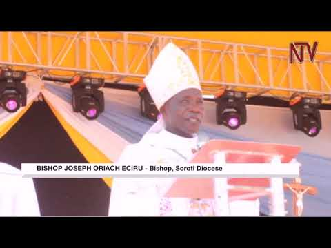 Catholic Church celebrates the consecration of new Soroti Bishop