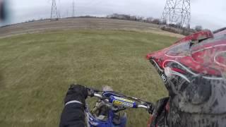 shift wheelie practice yz85