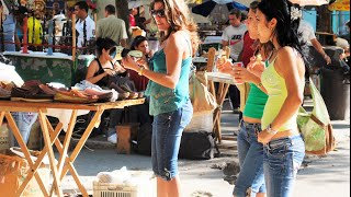 preview picture of video 'Massive Discount Flea Market in Central Havana, Cuba'