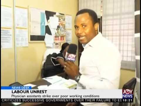 Labour Unrest - News Desk on JoyNews (17-9-18)