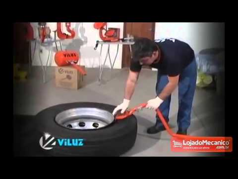 Kit Espátula Truck para Pneus de Caminhão - Video