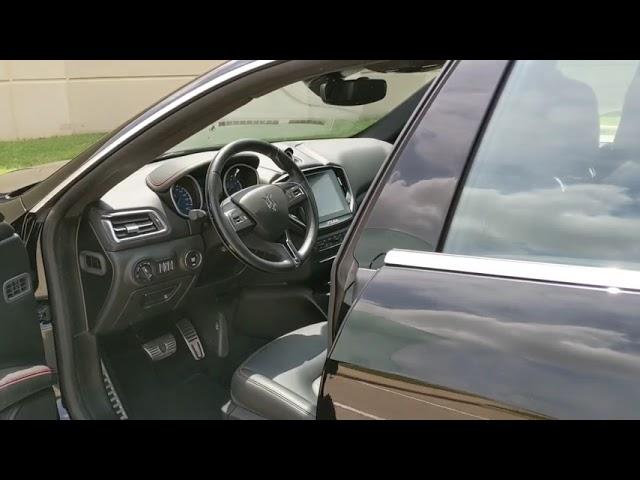 Pre-Owned 2018 Maserati Ghibli S BlindSpotDetection ExtendedLeatherPkg 20UranoWheels