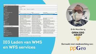 I03 WMS WFS inladen