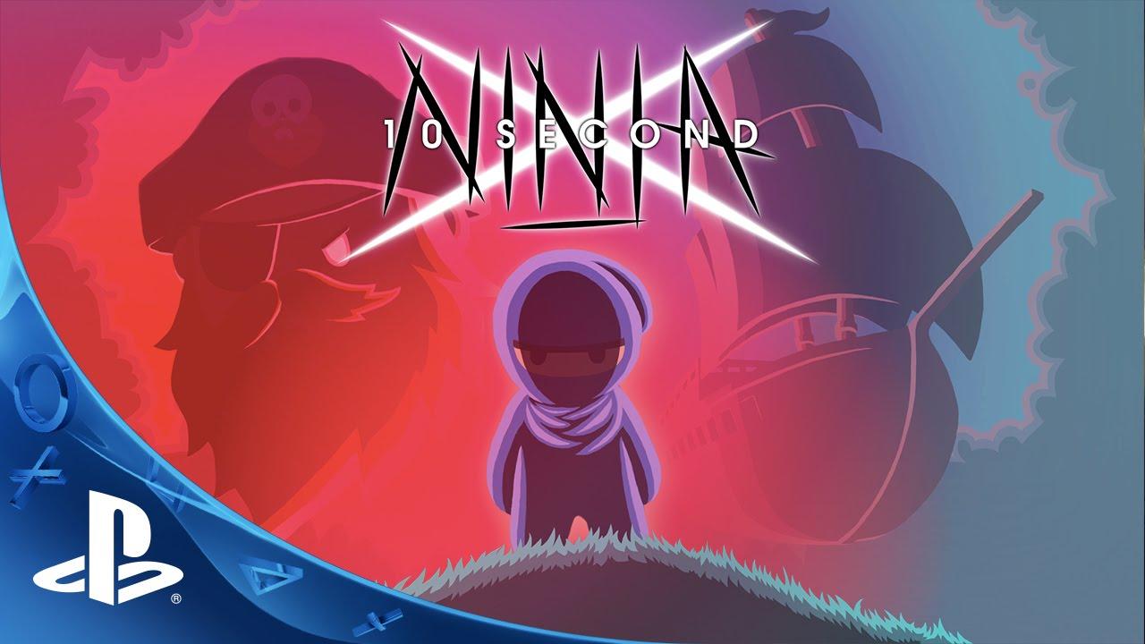 Furiously Fast Platformer 10 Second Ninja X Coming to PS4, PS Vita