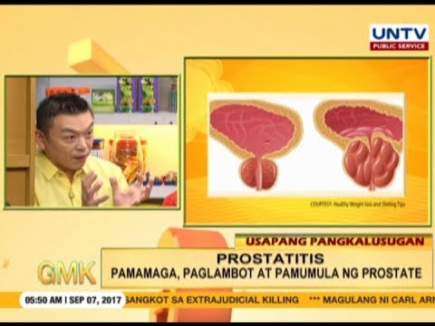 Prostatitis and poor urine