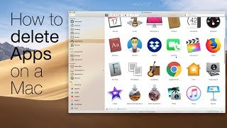 How to delete apps on a Mac
