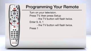 Using the Code Search Function to Program Your TV Remote