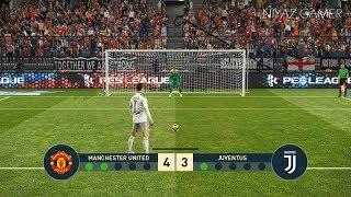 MANCHESTER UNITED vs JUVENTUS | Penalty Shootout | Ronaldo VS Man United | PES 2019 Gameplay PC