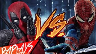 DEADPOOL VS SPIDERMAN RAP  | ZARCORT -CYCLO.KRONNO