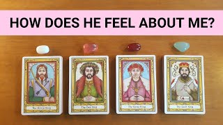 HOW DOES HE FEEL ABOUT ME? *Pick a Card* Tarot and Charm Reading Singles Relationship Love Timeless