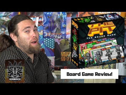 The Pit - Kickstarter - Board Game Review