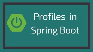 Profiles in Spring Boot   Spring Profiles   Tech Primers