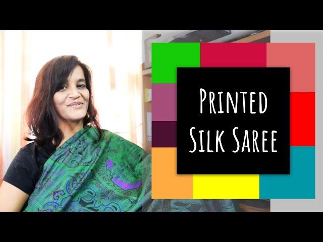 39 Printed Silk Saree || Sarees are my passion