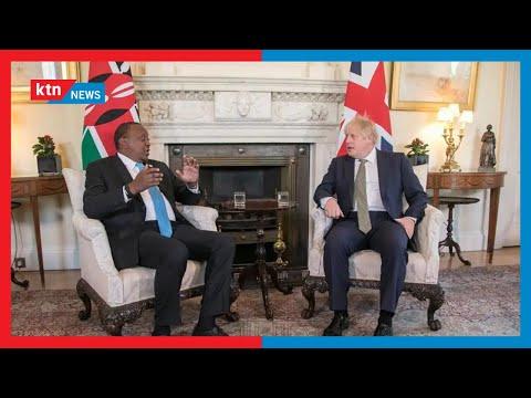 Uhuru Kenyatta's UK tour: Uhuru concludes three-day tour of the UK