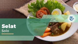 Selat Solo, Makanan Khas Solo dari Eropa