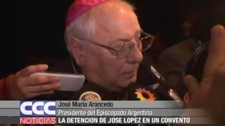 04 José María Arancedo   La Detención De José López En Un Convento