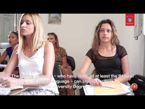 video Università per Stranieri