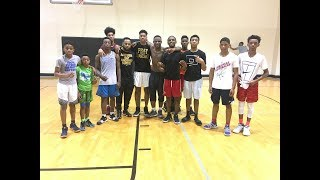 Massive Point Guard Session With Jevonte Holmes