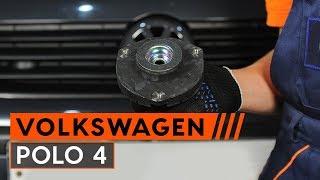 Como substituir cabeçotes amortecedores noVW POLO 4 [TUTORIAL AUTODOC]