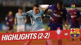 Resumen de RC Celta vs FC Barcelona (2-2)