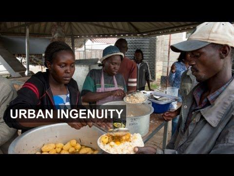 Rubbish-fueled slum oven wins award