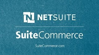 NetSuite SuiteCommerce video