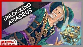 Nine Parchments - How to unlock Amadeus