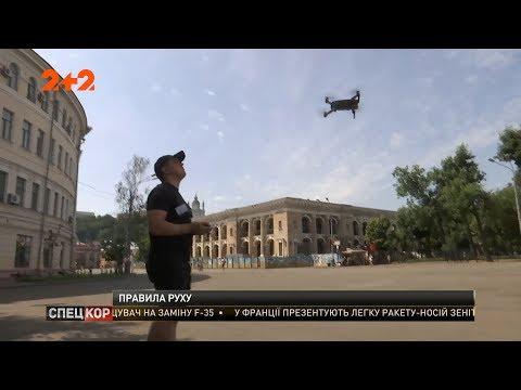 В Україні створили правила легального користування дронами