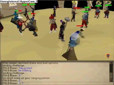 17th d bower duel arena vid 1 (read description)