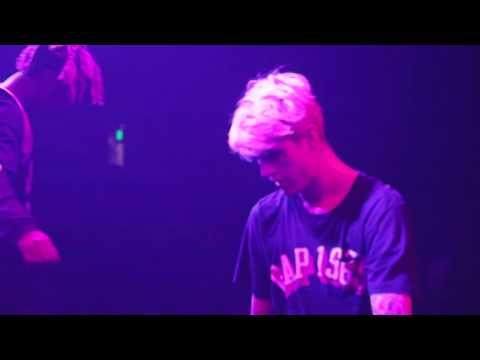 LIL PEEP X LIL TRACY - WHITE WINE LIVE PERFORMANCE (JULY 2016, SANTA ANA)
