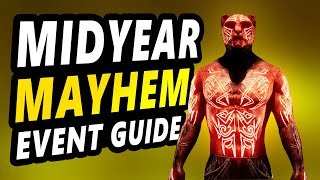 Easiest way to get the NEW FREE SKIN and tickets and style pages - ESO Midyear Mayhem Event Guide