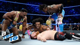 Top 10 SmackDown LIVE moments: WWE Top 10, November 21, 2017