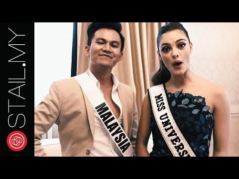 #STAILMoment Bersama Miss Universe 2017 Demi-Leigh Nel-Peters di pelancaran Muca, Kuala Lumpur