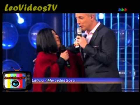 Leticia Bredice es Mercedes Sosa en Tu Cara Me suena 3 #GH2015 #GranHermano