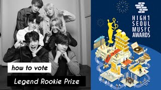 [TUTORIAL] how to vote for iKON at the 30th Seoul Music Awards | Legend Rookie Prize