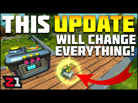 This Update WILL Change EVERYTHING ! Scrap Mechanic Survival Update   Z1 Gaming