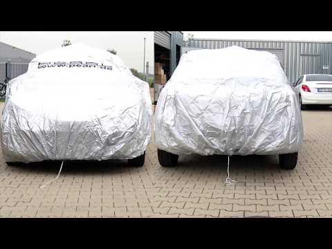 PEARL Premium Auto-Vollgarage Kleinwagen 406x165x119cm