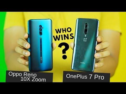 Oppo Reno 10X Zoom vs OnePlus 7 Pro | Full Comparison with Marks!