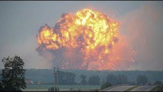 Подборка мощных взрывов под Винницей. Калиновка
