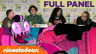 'Invader Zim: Enter the Florpus' FULL Panel | Comic-Con 2018 | Nick