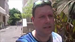 Walking Around Dubai In July,Big Mistake!