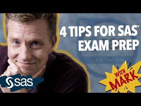 SAS Tutorial | SAS Certification Exam | 4 Tips for Success - YouTube
