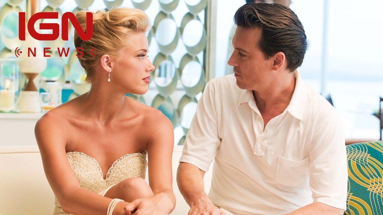 Depp's Wife Heard Faces Jail Time in Australia for Dog Smuggling – IGN News #EsperanzaMia