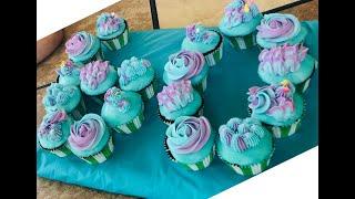 Easy Bake & Decorate Birthday Cake Cupcakes